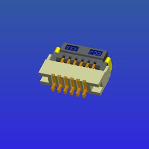 0.5mm間距1.2高T1掀蓋式FPC