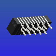 1.0mm間距A型雙面接彎針無鎖式FPC
