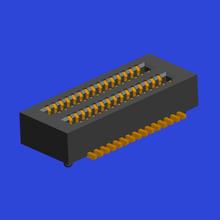 0.50mm間距BTB 雙槽 母座Female 立貼帶定位柱