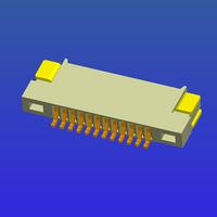 0.5mm間距1.2高無鎖式FPC