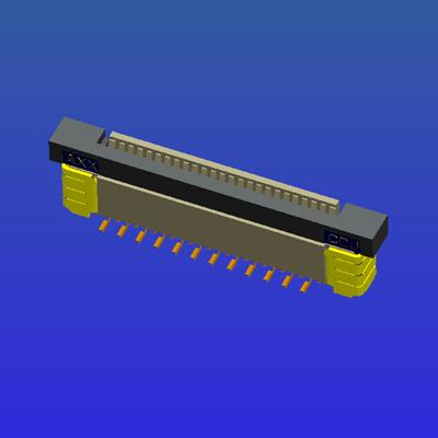 0.5mm間距全包立貼抽屜式FPC